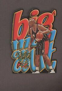 1997 Fleer Skybox Z Force Big Man On Court #1 Charles Barkley Die Cut