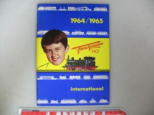 H921-0, 5 #Fleischmann H0 Catalogue 1964/65 Sfrs - Mint