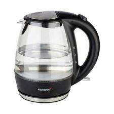 Korona 20607 Wasserkocher schwarz/Edelstahl 1 Liter NEU & OVP