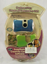 CyberPix Digital Camera Kit NEW 2-1 Digital Camera w/3 Face Plates NIB