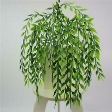 Artificial Ivy Vine Willow Leaf Rattan Plant Fake Foliage Home Hanging Decor New