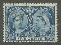 CANADA #54 USED JUBILEE F/VF