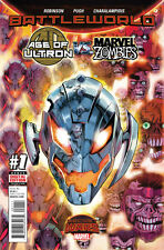 AGE OF ULTRON VS MARVEL ZOMBIES (2015) #1 VF/NM BATTLEWORLD SECRET WARS
