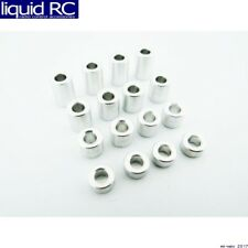 Hot Racing SPC3007 M3 Aluminum Standoff Spacer Set (4x)(3-5-7-9mm)