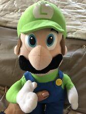Super Mario Bros Nintendo Luigi Plush Toy 12 Inches