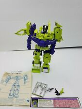 G1 Vintage Combiner Constructicons Devastator Transformers Lot. Read Description
