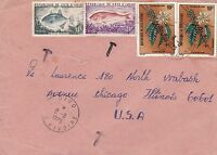 BD815) Ivory Coast 1975 nice cover to USA