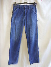 "Mens Jeans - GAS, 30"" waist, 35""L, blue rine, model 'painter', straight - 7377"