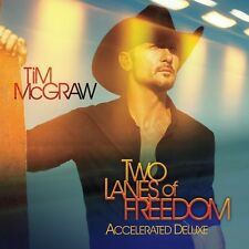 Two Lanes Of Freedom - Mcgraw,Tim (2013, CD NEUF)