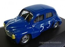 1/43 renault 4CV 53 4/4 RALLY  coche miniatura metal diecast