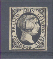 6cu NUEVO ISABEL II. 1851