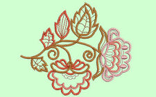 JACOBEAN PINKS 20 MACHINE EMBROIDERY DESIGNS