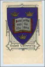 W3m51/Universidad de Oxford mostrarían prägedruck ak studentika aprox. 1912
