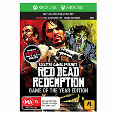 Red Dead Redemption Game of the Year XBox360 Xbox 360 plays on XBox One PAL