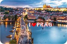 Kühlschrankmagnet,Magnetschild,Magnet-I´Love Prag