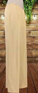 Ann Taylor Dress Pants 100% Silk Womens Lined Ivory Size 12 $129