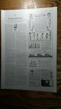 1914 Schoenhut All Wood Dolls & Humpty Dumpty Circus Toys 1/3 Page Ad