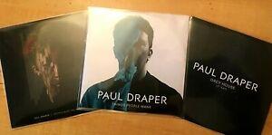 PAUL DRAPER 3 RARE PROMO CD'S [FRIENDS MAKE../THINGS PEOPLE WANT/GREY HOUSE]