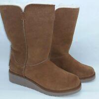 Koolaburra By Ugg Women's Size 5 Faux-Fur-Lined Boot Model 1014301