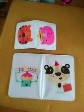 Paperchase kids Passport Cover And Card Wallet set