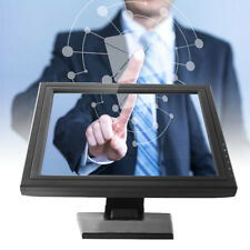 """17"""" LCD Touch Screen LED Monitor POS Stand ristorante Monitor Informatica DHL"""