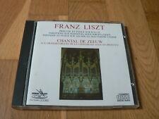 Chantal de Zeeuw - Liszt : Organ Works, Oeuvres pour Orgue - CD PV West Germany