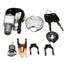 GY6 50cc Universal Ignition Lock Switch Fuel Tank Cap Key Set For Scooter Moped