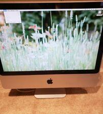 "Apple 20"" iMac 8.1 20"" Core 2 Duo 2.4 GHz 1GB RAM 250GB HDD READ DESCRIPTION"