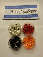 racing pigeon clip rings 8mm `(numbered)