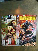 DEATHSTROKE 3 Book lot #1,2,3 DC COMICS THE NEW 52! NM UNREAD