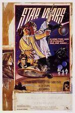 Original KILIAN STAR WARS Circus Style D 27x41 unnumbered Fan Club 1 Sheet