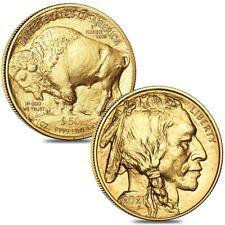 Lot of 2 - 2021 1 oz Gold American Buffalo $50 Coin BU