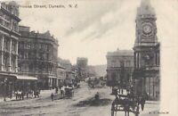 NZPC058) PC Princes Street, Dunedin, New Zealand, FT Series 23, used, GC