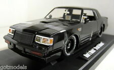 Jada 1/18 échelle 97178 fast & furious dom's buick grand national black diecast
