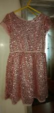 Girls H & M sequin Dress Size 3-4 Years