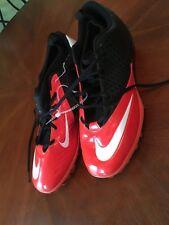 New Nike Size 14 Football Cleats 511334-018 Superbad Black & Orange White Lunar