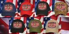 Mos 6153 Helo Airframe Ch-53 Hat Patch Cap Marines