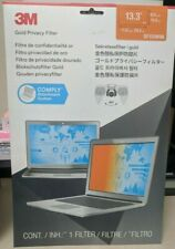"""3M Gold Privacy Filter for 13.3"""" Widescreen Laptop Notebook privacy filter"""