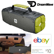 Dreamwave ELEMENTAL 30W Outdoor Activity Portable Bluetooth Speaker Flashlight