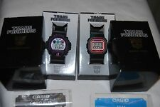 Transformers Megatron & CONVOGLIO G-Shock Watches DW-6900 & DW-5600 Set RARO USATO
