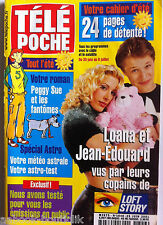 b)Télé poche 25/06/2001; Loana et Jean Edouard/ Monica Bellucci/ Béatrice Dalle