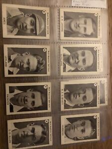 Boys Magazine FULL SET Zat Cards Cricketers In Plastic Sleeves Excellent