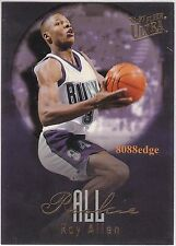 1996-97 ULTRA ALL-ROOKIES EMBOSSED: RAY ALLEN #2 BUCKS RC NBA ALL-TIME LEADER