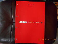 Officina manuale Workshop Manual Manuale d officina DUCATI MODELLO st4 2002