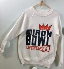 Vintage 1987 Football Iron Bowl Auburn Tigers Champions Sweatshirt Large
