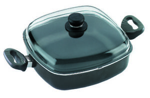 Eurolux Cookware Non Stick Square Pan 28cm with oven proof lid & handles German