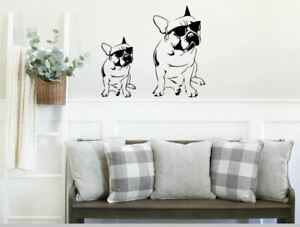 French Bulldog Sticker | Vinyl Wall Sticker | Wall Sticker | Home Decor/Salon