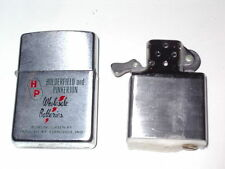 Zippo Lighter HOLDERFIELD and PINKERTON Wholesale Batteries NEW BOXED  Vintage