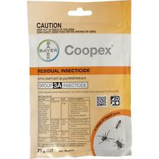 BAYER COOPEX RESIDUAL PESTICIDE 25g PERMETHRIN WATER SOLUBLE OUTDOOR PESTICIDE