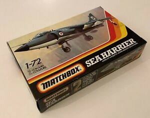 Matchbox PK-37 FRS51 Sea Harrier (sealed,boxed+contents) LOT A